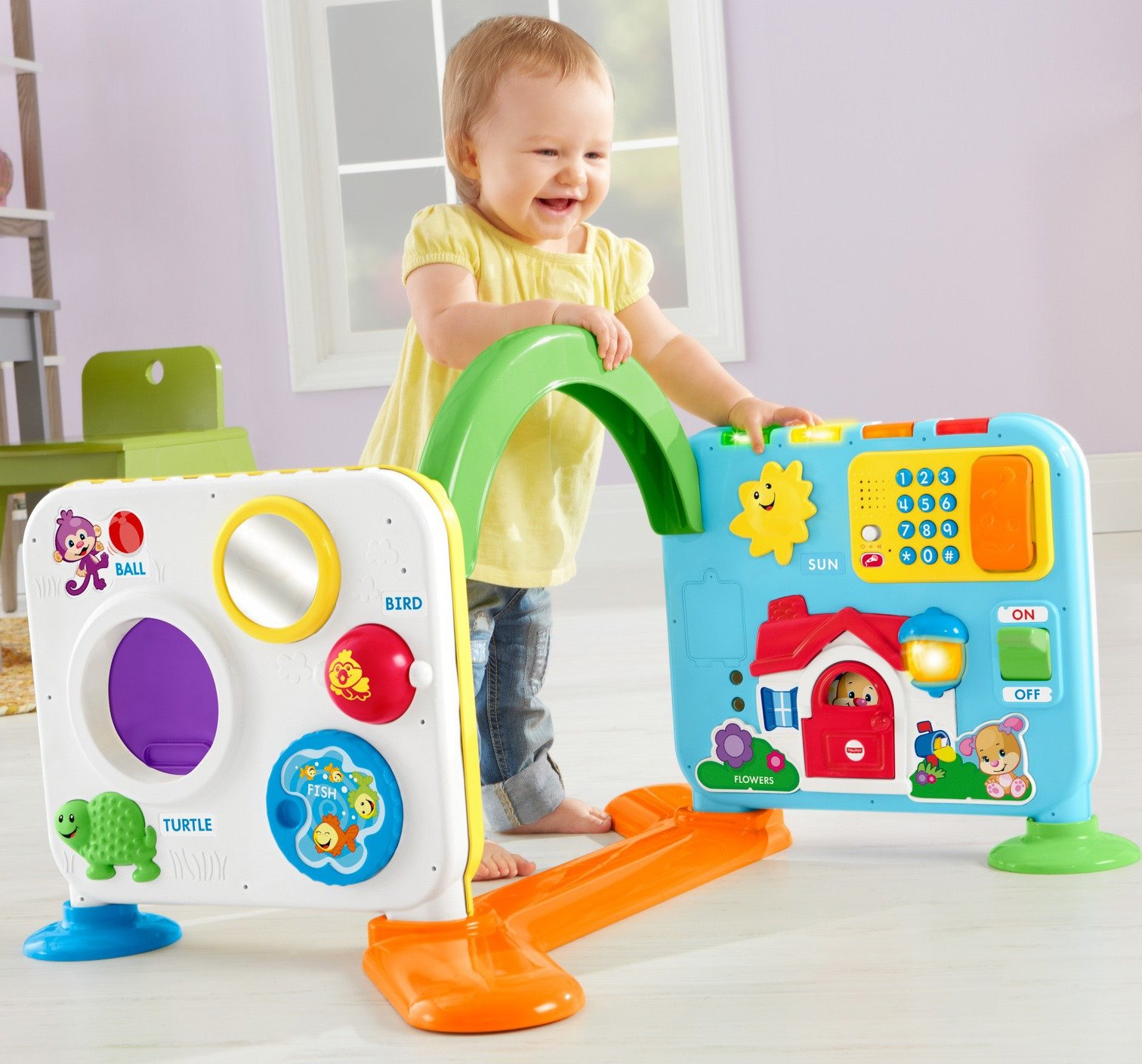 Fisher-Price Laugh & Learn Crawl-Around Learning Center by Fisher-Price (Image #8)