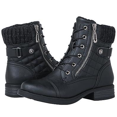 GLOBALWIN Women s 1821 Black Fashion Boots 6M acd971329