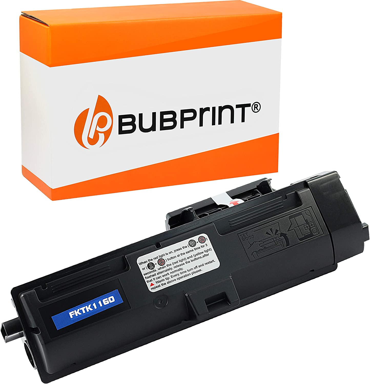 Bubprint Toner Kompatibel Für Kyocera Tk 1160 Tk1160 Tk 1160 1t02ry0nl0 Für Ecosys P 2040 Dn P2040dn 2040dn P2040 Dw P2040dw 2040dw Schwarz Bürobedarf Schreibwaren