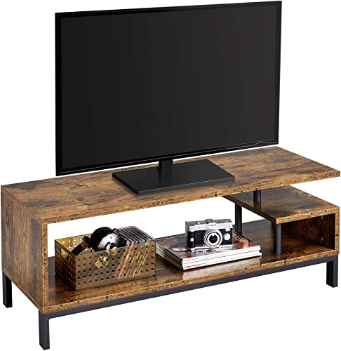 YAHEETECH Industrial TV Stand Table Console Table