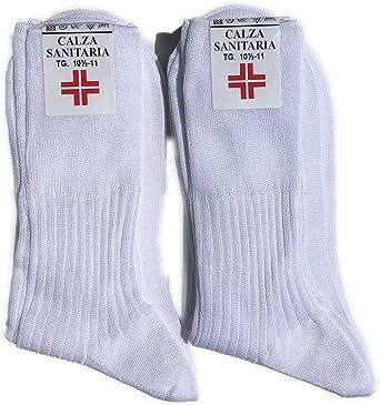 Lucchetti Socks Milano 6 pares de calcetines para hombre Sanitarias hilo de Escocia 100% algodón tejido Made in Italy: Amazon.es: Ropa y accesorios