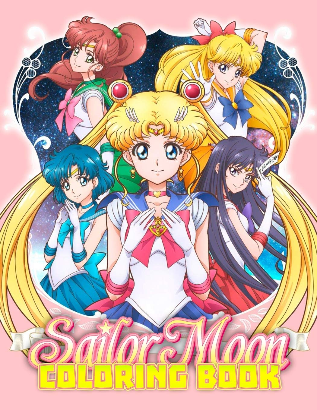 Sailor Moon Coloring Book 35 Awesome Illustrations For Kids Books Exclusive 9798607078959 Books Amazon Ca