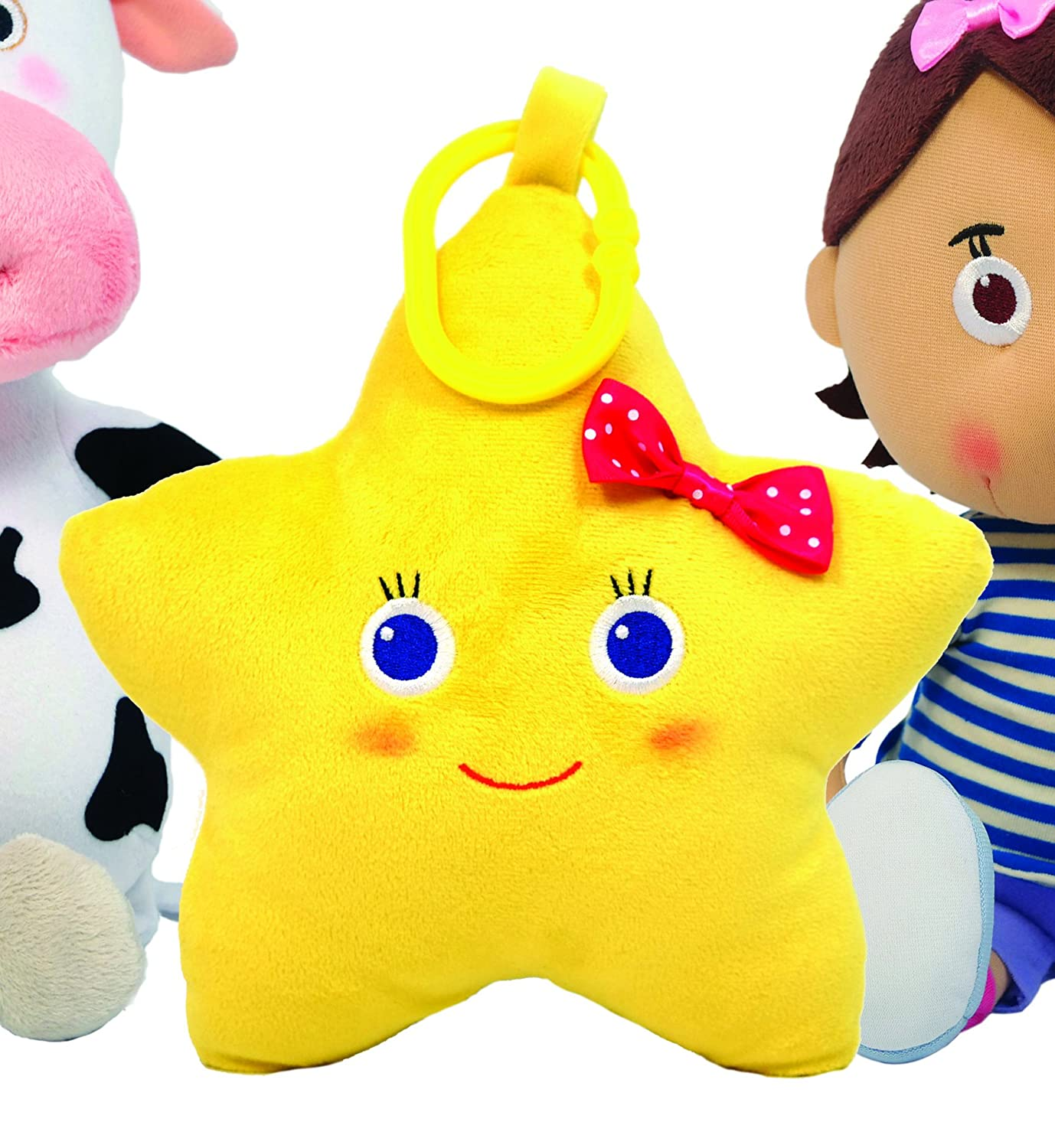 Amazon.com  Little Baby Bum Musical Twinkle The Star Plush  Toys   Games e6ed4dd24