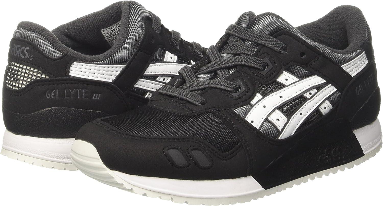 Asics Gel-Lyte III PS, Zapatillas Infantil, Gris (Dark Grey/White), 31.5 EU: Amazon.es: Zapatos y complementos