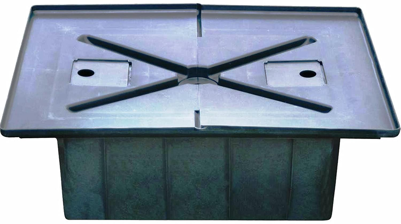 LAGUNA PT-236B serbatoio di acqua da 30 litri con coperchio. Le misure di copertura di circa 69 x 52 cm Hagen PT236