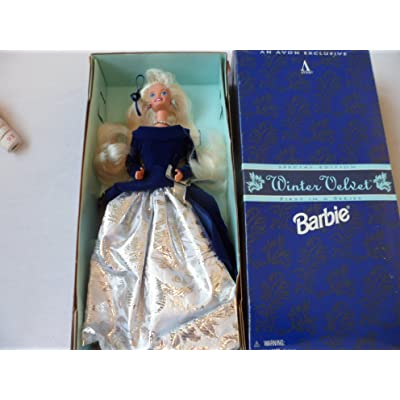 Barbie Special Edition Winter Velvet Doll Caucasian 1st In A Series: Toys & Games