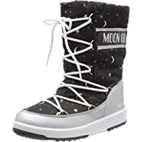 Moon-boot Jr Girl Quilted Universe WP, Stivali da Neve Bambino