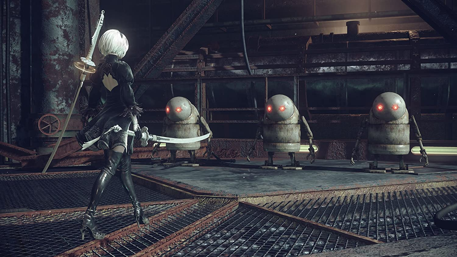 Square Enix Nier: Automata Limited Edition, PS4 Limited PlayStation 4 Inglés vídeo - Juego (PS4, PlayStation 4, Acción / RPG, M (Maduro)): Amazon.es: Videojuegos