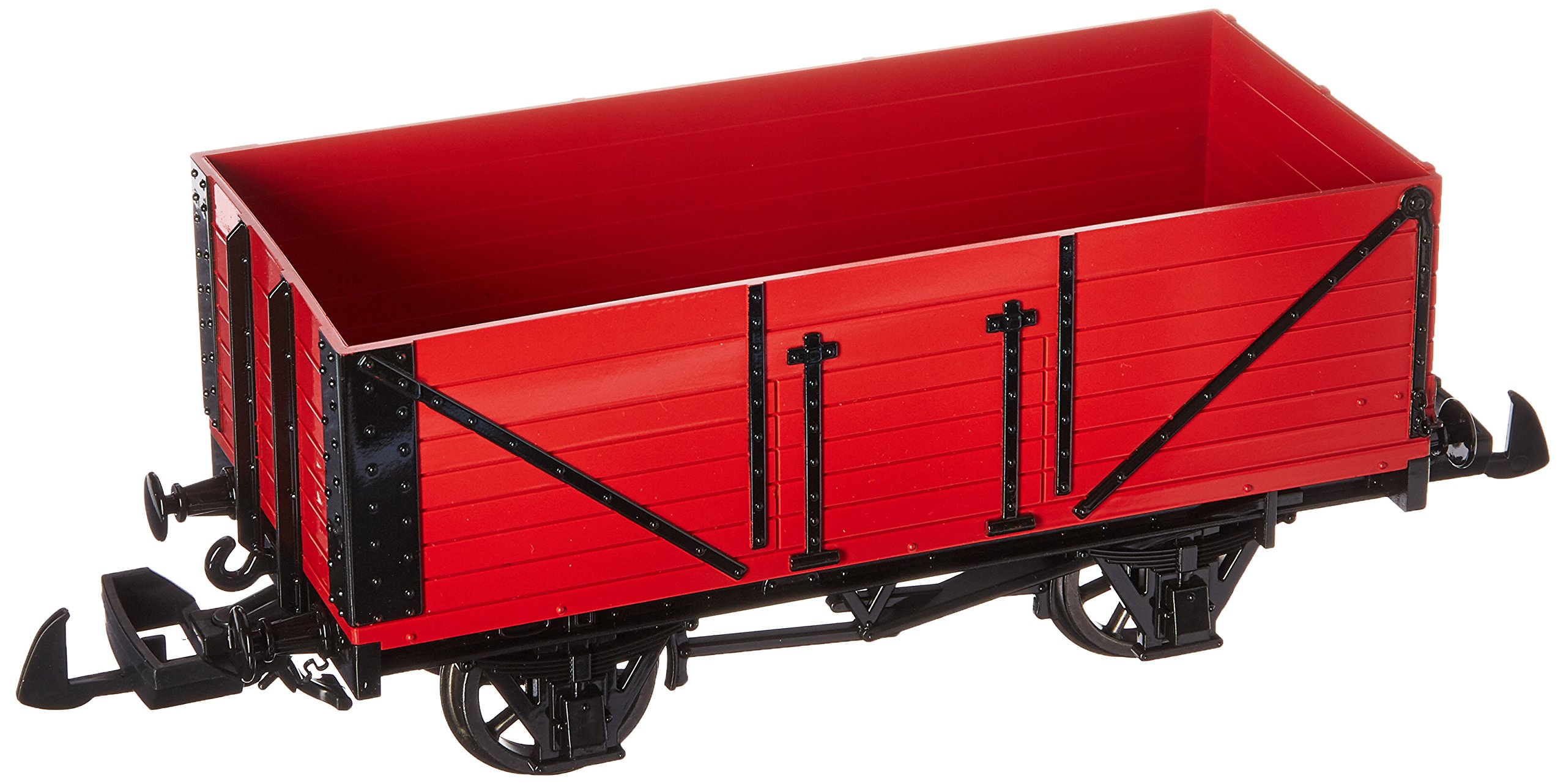 Bachmann Industries Thomas & Friends - Open Wagon - Red - Large ''G'' Scale Rolling Stock Train