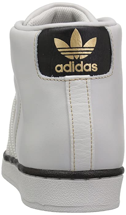 Amazon.com | adidas Originals Mens PRO Model Running Shoe, Grey One/Black/Tactile Gold, 13.5 Medium US | Fashion Sneakers