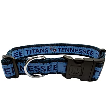 17fc3c416 Amazon.com   Pets First NFL Tennessee Titans Dog Collar