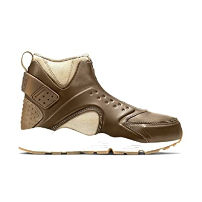 save off 3fea7 0974e Amazon.com | Nike W air Huarache Run MID Aged Coin/Volt ...