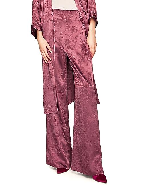 Zara - Pantalón - para mujer rojo rosso Small: Amazon.es ...
