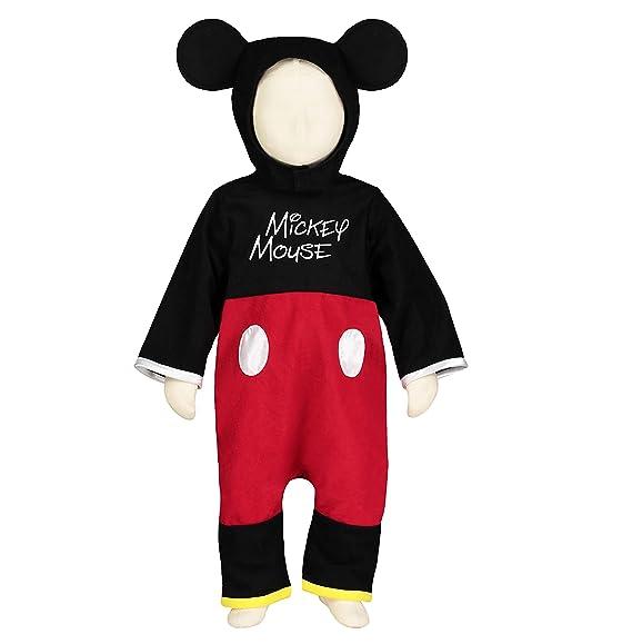 Travis X de dcjug de MIC18 Infantil Disfraz Mickey Pelele, 86 - 92 ...