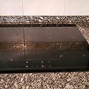 Teka TZ6415 - Placa (Integrado, Cerámico, Vidrio, Negro, 14,5 cm, 18 cm)