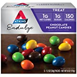 Atkins Endulge Treat, Chocolate Peanut Candies, Keto Friendly, 5 Count (Pack of 4)
