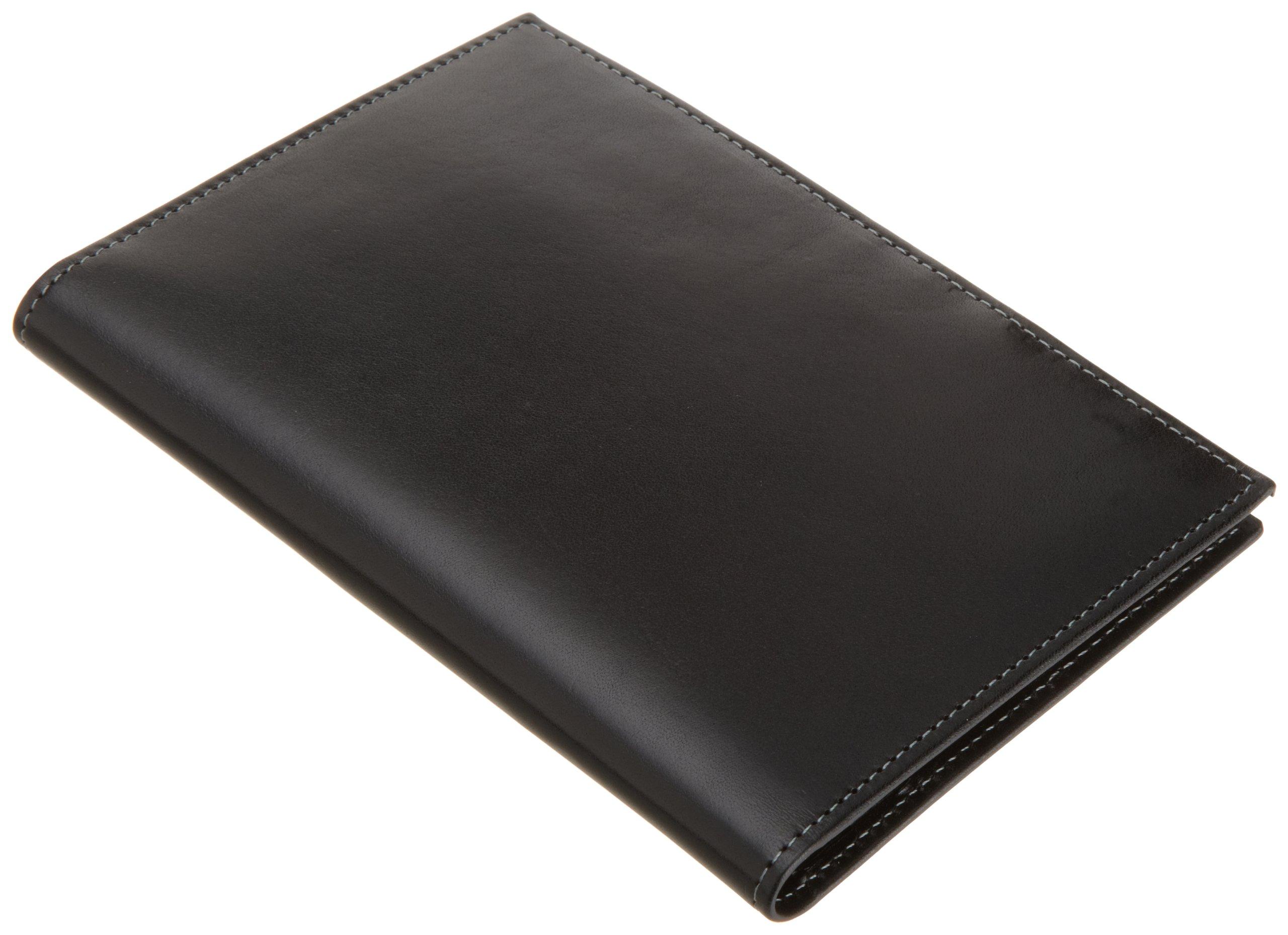 Trafalgar Men's Cortina Passport Case,Black,One Size