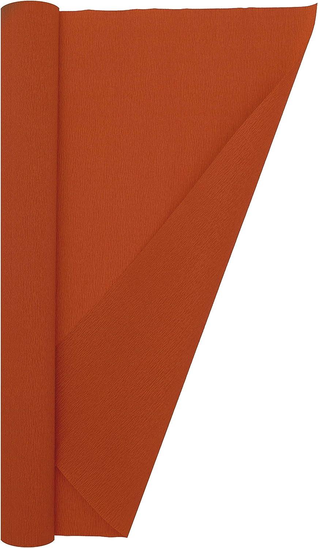 13.3 sqft Crepe Paper Roll Red Premium Italian Extra Fine 60 g