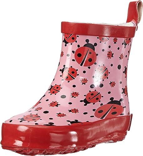 Bota de agua de ni/ña Playshoes Gummistiefel 21 rosa