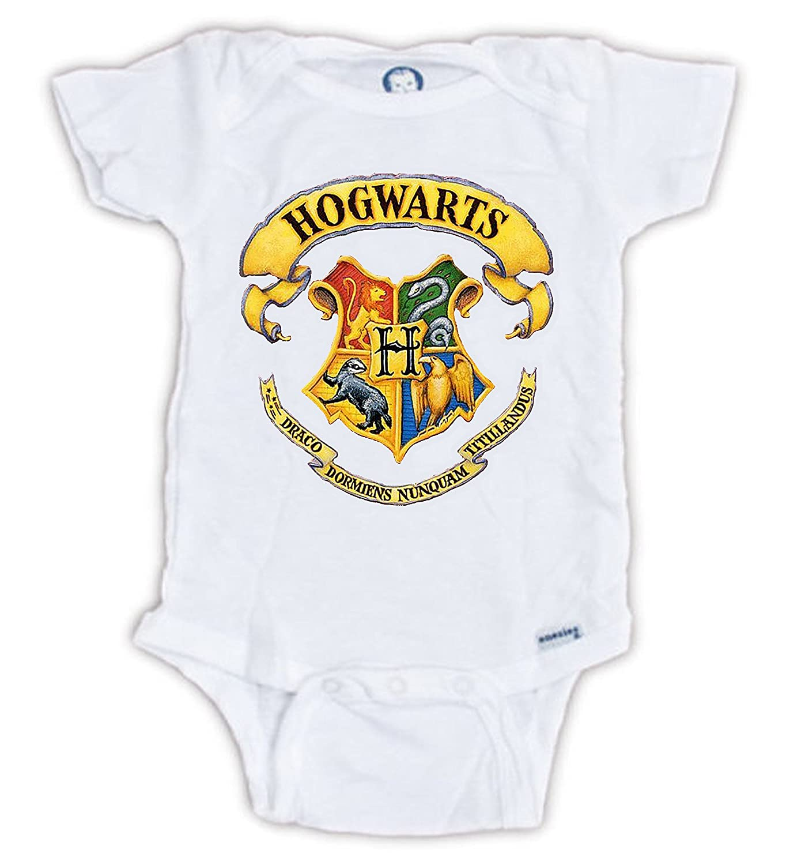 Harry Potter Onesie Hogwarts Bodysuit 6 9 Months Amazon Ca