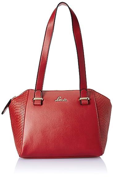 ab1a27f8ce4 Lavie Iridium Women's Handbag (Red): Amazon.in: Shoes & Handbags