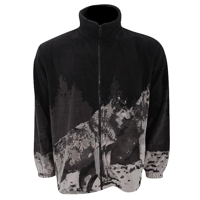 Chaqueta Polar con diseño Animal Husky de montaña para Mujer ...