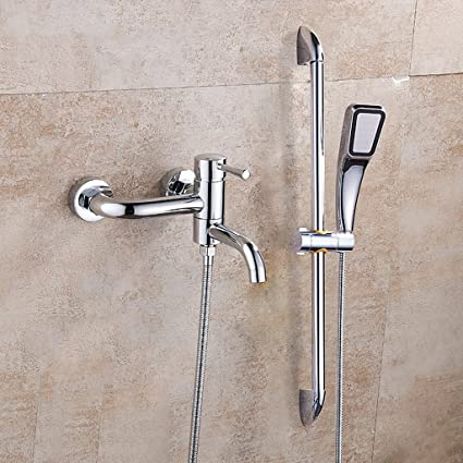 Copper Thermostatic Shower Set Triple Mixed Valve Concealed ...