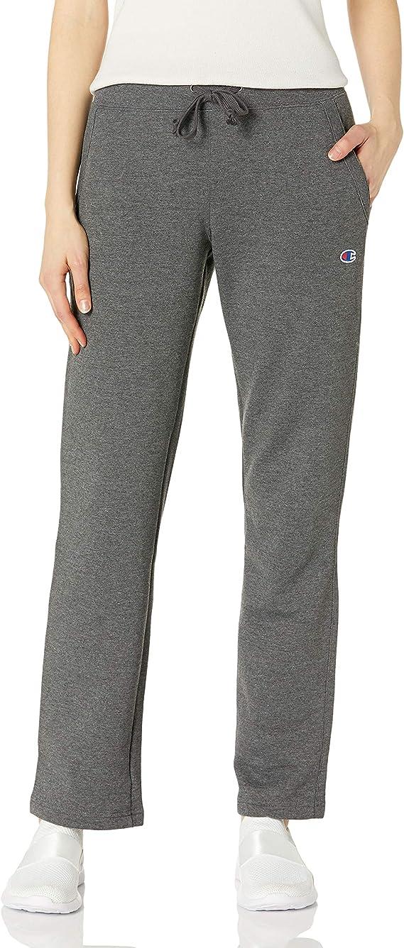 Champion Women's Fleece Open Bottom Pant