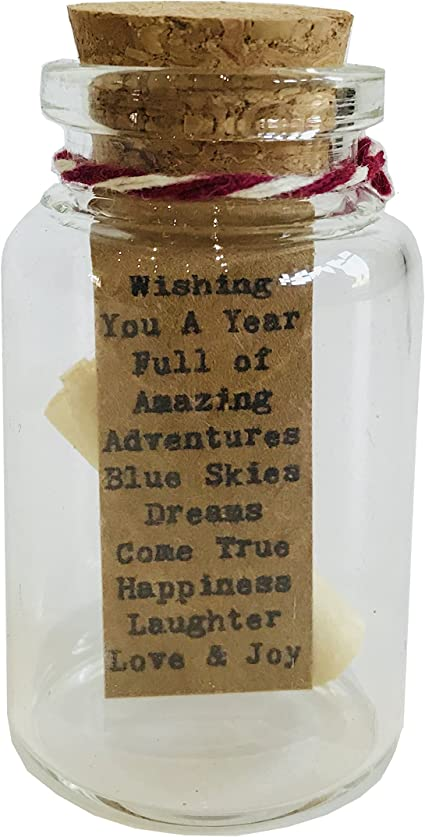 Little Jar Of Big Ideas Tiny Jar Of Wishing You A Year Full Of Amazing Adventures