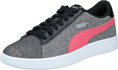PUMA Smash V2 Glitz Glam Jr, Girl's Sneakers, (