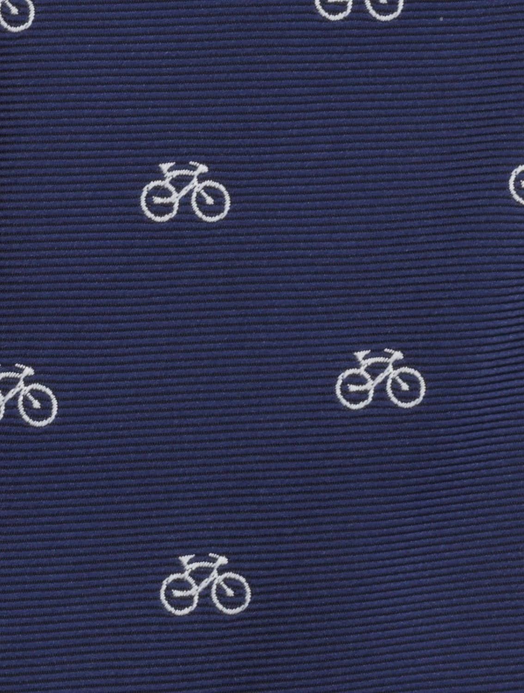 Paisley of London cravatta da taschino per ragazzi set cravatta e fazzoletto per ragazzi colore blu navy