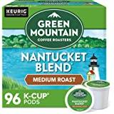 Green Mountain Coffee Roasters Nantucket Blend, Single-Serve Keurig K-Cup Pods, Medium Roast Coffee, 96 Count
