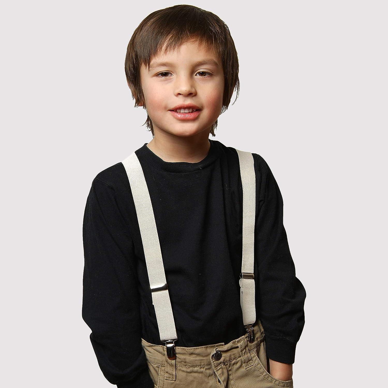 30 1 Inch Suspender Perfect for Tuxedo Black Suspenders for Kids