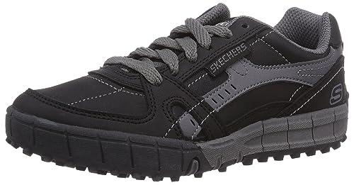 Skechers Zapatillas de cuero con cordones modelo Floater