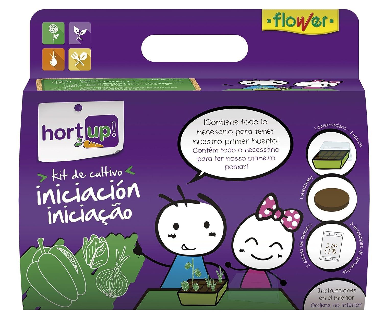 Flower 55097 55097-Kit de iniciación al huerto, No Aplica, 18.5 ...