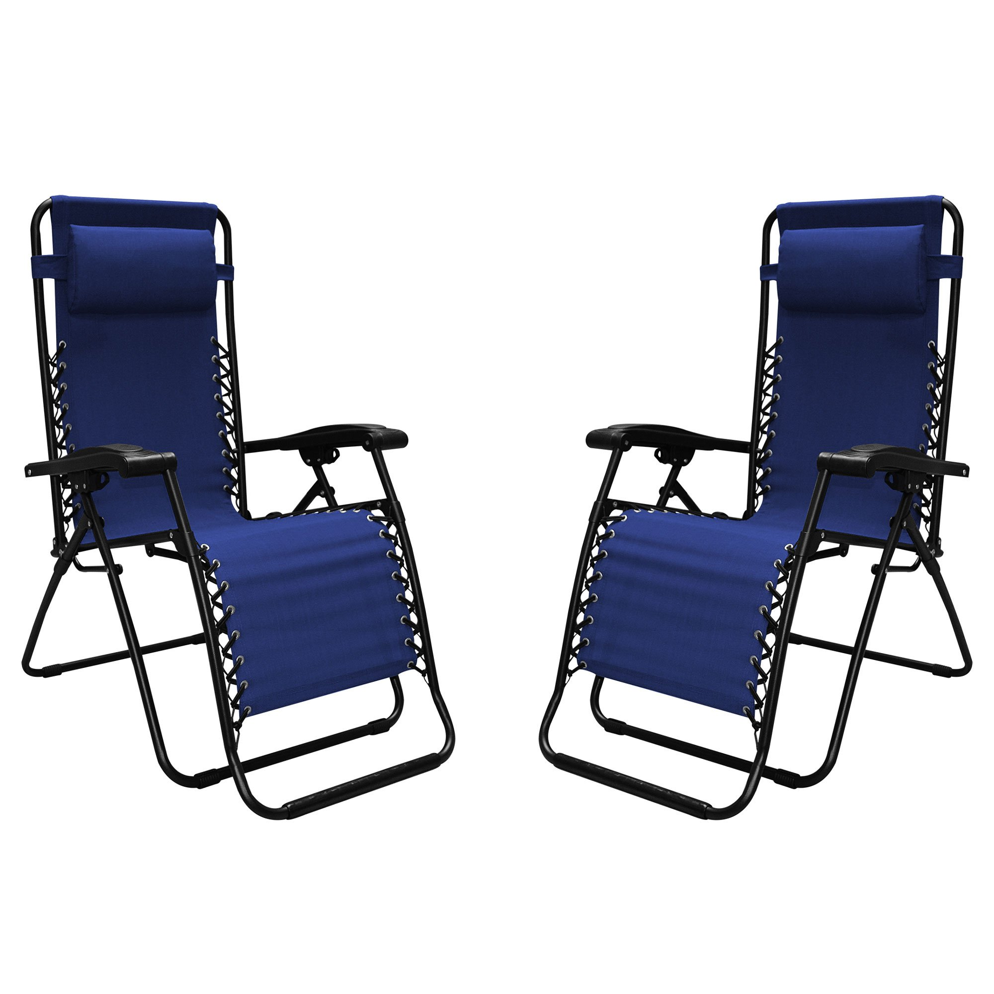 Caravan Sports Infinity Zero Gravity Chair - 2 Pack, Blue