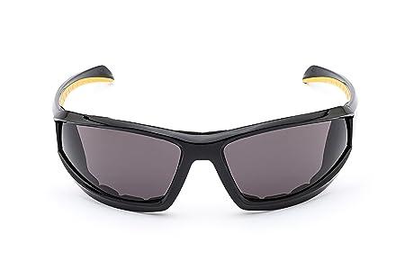 Morr Marrconi Z75 Sport Safety Glasses Fog Armorr Black Carbon Frame Clear Lens Men's Accessories