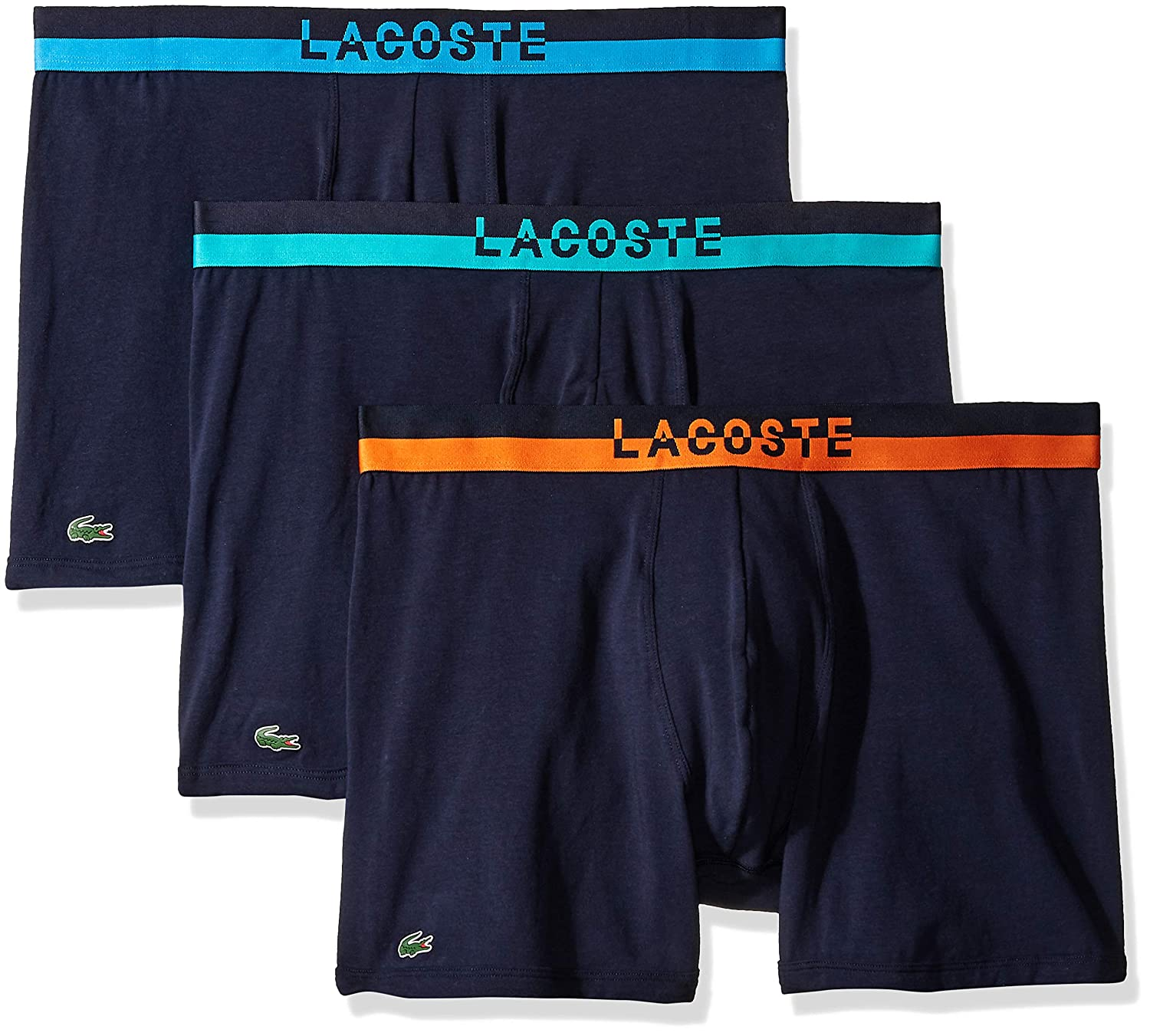 b37637285 Lacoste Men s Cotton Stretch Boxer Brief Underwear