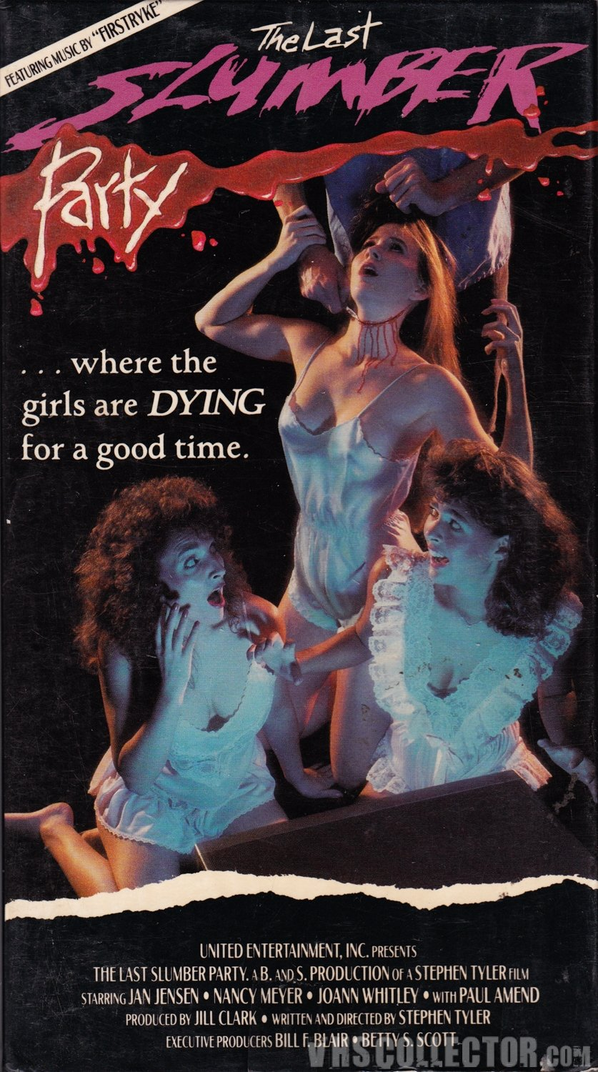 The Last Slumber Party [VHS] Paul Amend