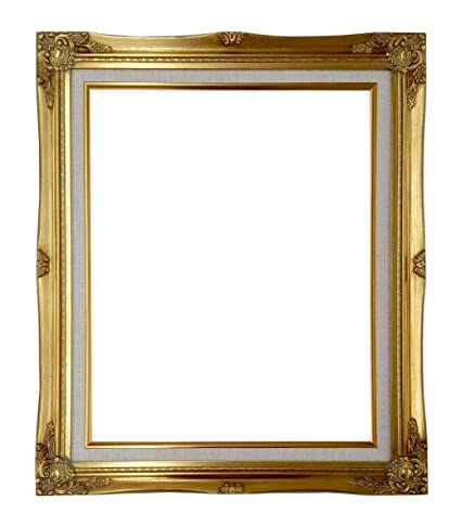 Amazon Ornate Baroque Gold Painted Wooden Frame With Cream
