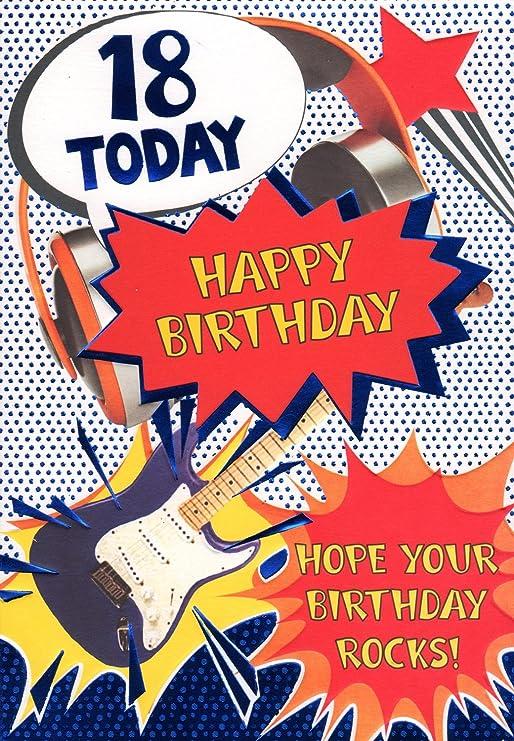 18th Tarjeta de cumpleaños – 18 hoy, feliz cumpleaños Espero que ...