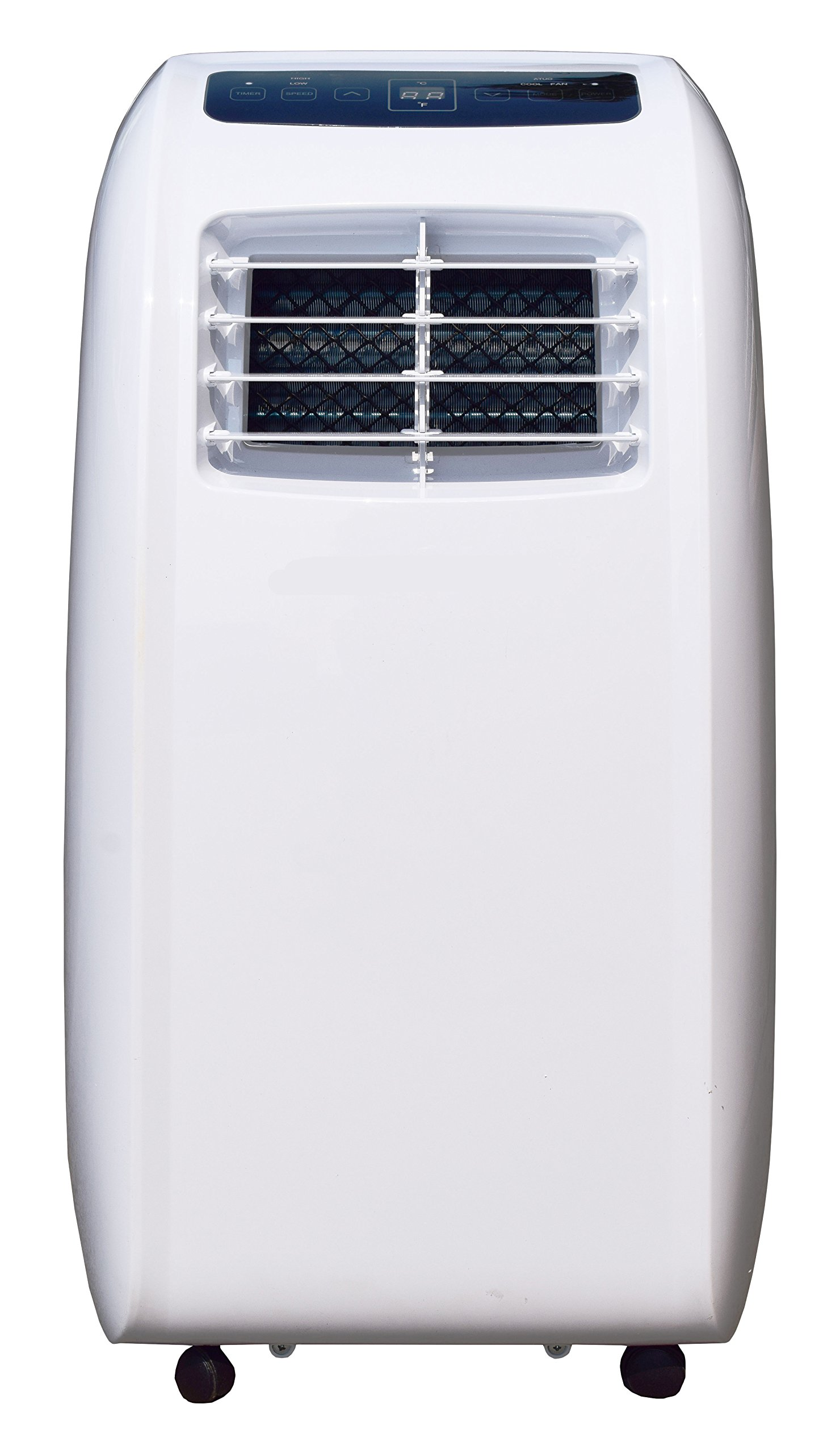 CCH YPLA-08C Portable Air Conditioner 1 Ultra compact for easy handling and positioning. Weighs only 47 lbs 8,000 BTU's of cooling power keeps a room up to250 sq. Ft. Cool and comfortable and partially Cools an Area up to 350 sq.Ft Washable and reusable air filter saves money on Replacements