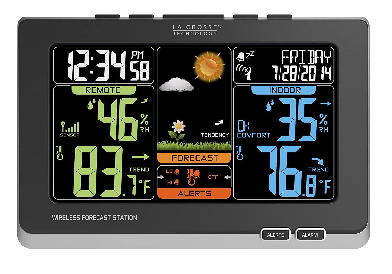 La Crosse Technology estación meteorológica inalámbrica ...