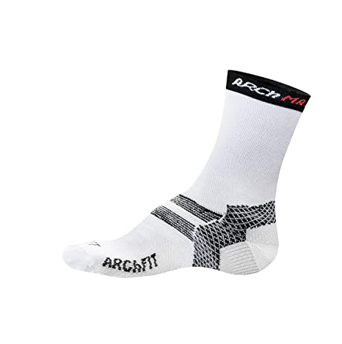 Arch Max Archfit Padel - Calcetín Deportivo Unisex, Color Blanco, Talla L/42-45: Amazon.es: Zapatos y complementos