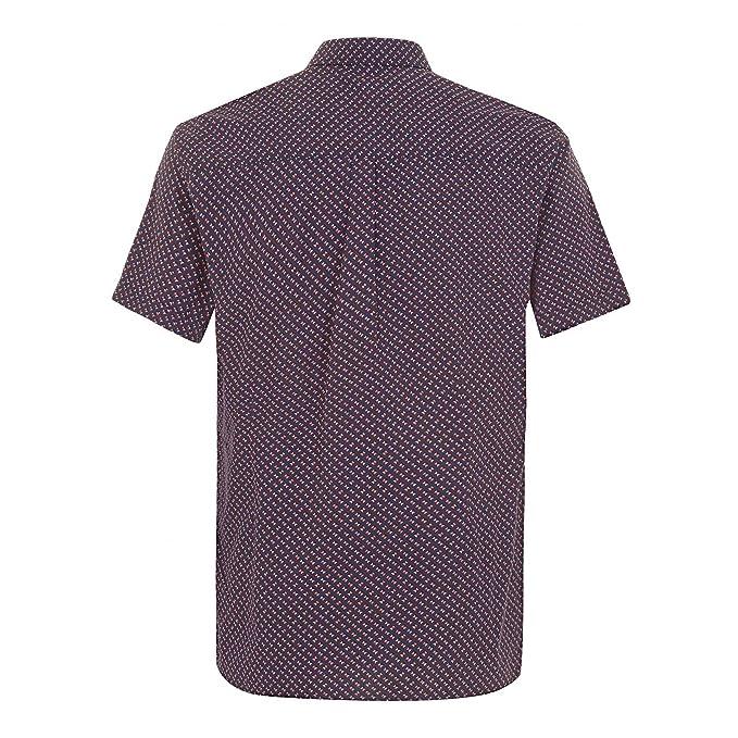 Merc Camisa Hombre Misson Azul Oscuro XS: Amazon.es: Ropa y accesorios