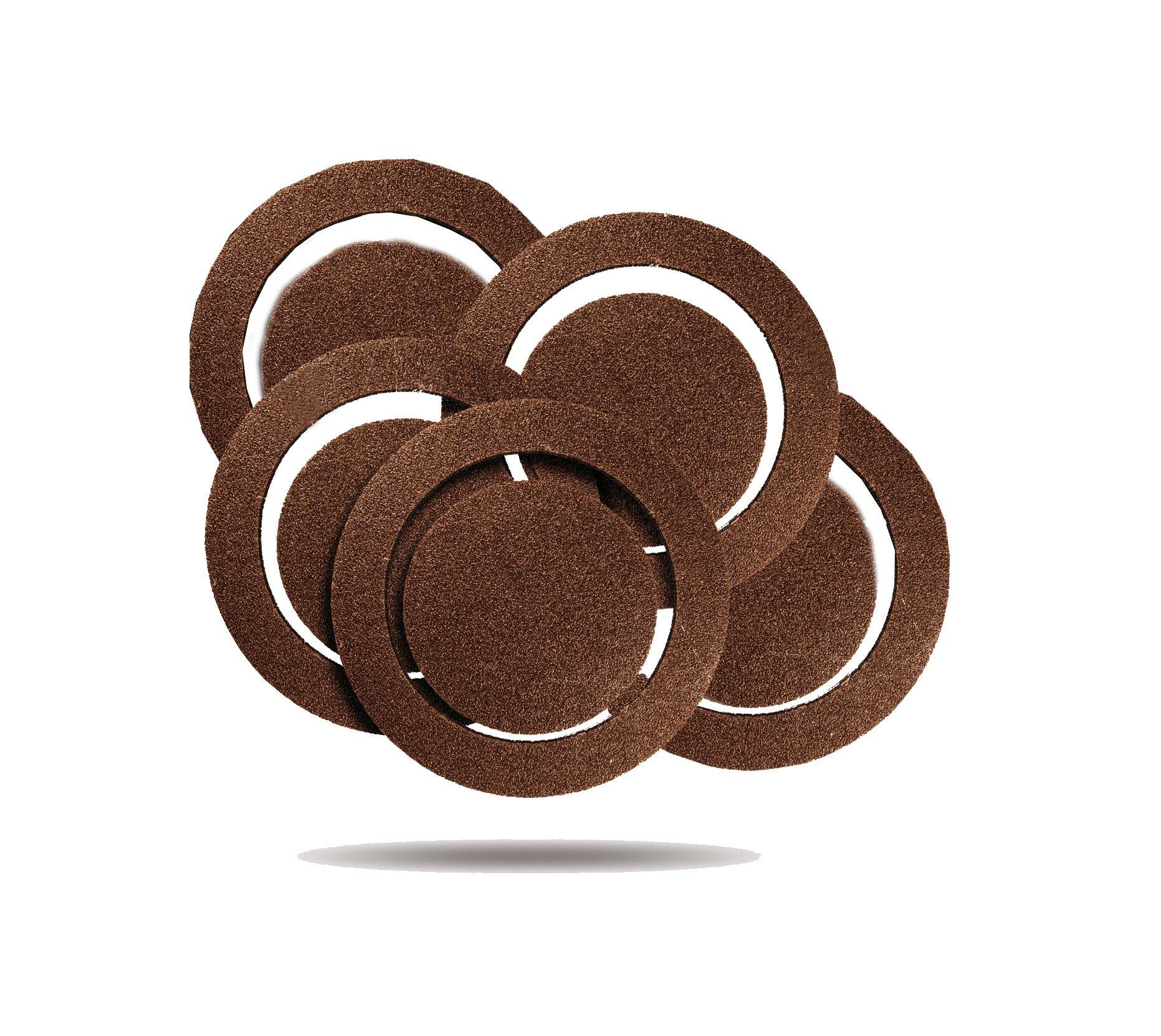 Rockwell RW9215 5-Inch 120 grit Sanding discs, 5-Pack for RK4245K, 5-Pack for RK4247K