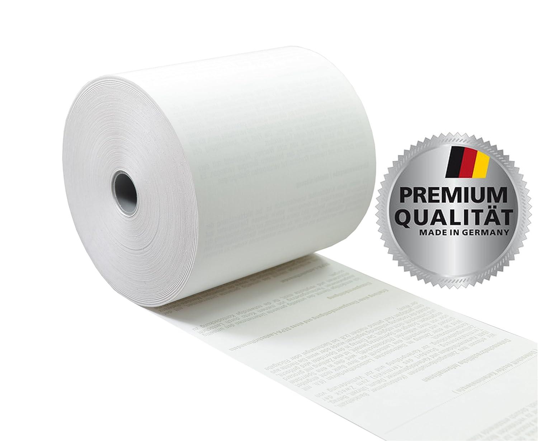 VEIT GmbH ➤ Thermorollen 80mm x 80m x 12mm [ØRolle 78mm] mit SEPA-Lastschrifttext passend für Epson, IBM, Nixdorf, Samsung, u.v.m. ➤ 30 Stk. u.v.m. ➤ 30 Stk.