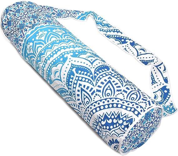Amazon.com: Handmade Mandala algodón bolsa para esterilla de ...