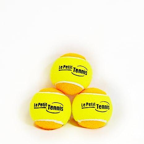 Le Petit Tennis - Pk3 amarillo-naranja (etapa 2) pelotas de tenis ...