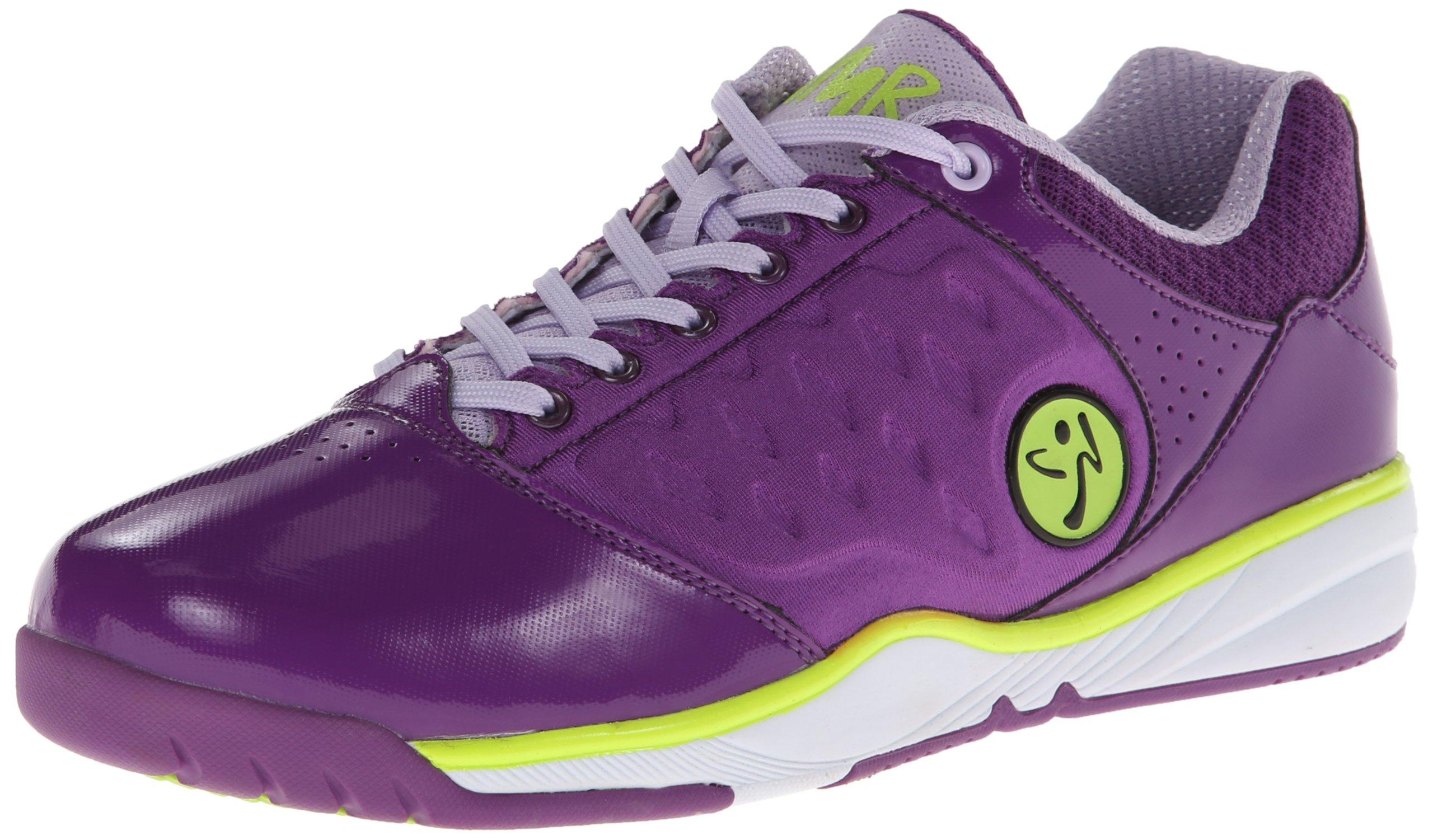 Zumba Women's Energy Push-W Dance Shoe Purple/Lavender 10 M US